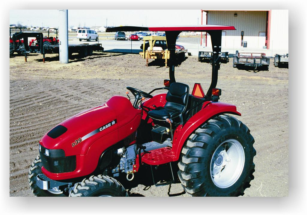 Steel and Aluminum Canopies for ROPS equipped tractors. & Wells Ag Company - Tractor Canopies